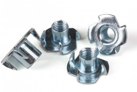 Гайка усовая (Краб-гайка) М6х10  (DIN 1624)