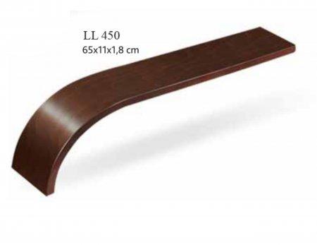 Деревянный подлокотник LL 450