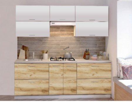 Кухня КЛЁН 2200 мм (Готовый комплект)