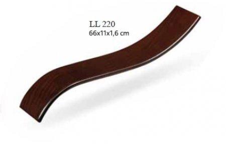 Деревянный подлокотник LL 220